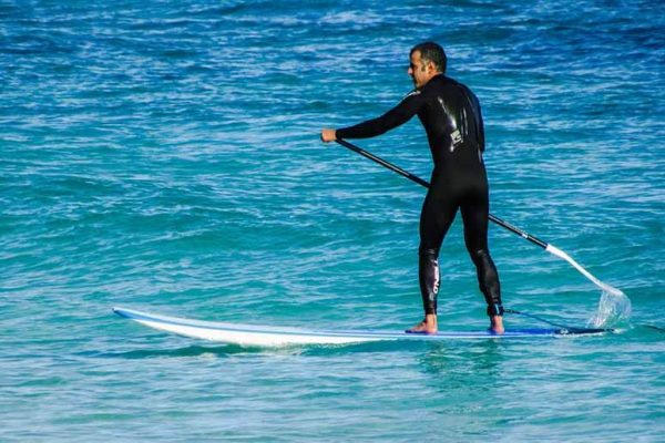 history of stand up paddle boarding
